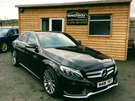 2015 Mercedes-Benz C Class C-CLASS 2.1 C220 BLUETEC AMG LINE Diesel Automatic **** Finance Available**** – Brown Cars Newry