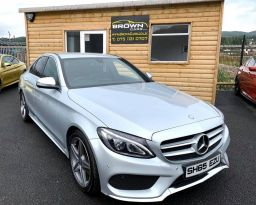 2015 Mercedes-Benz C Class C-CLASS 1.6 C200 D AMG LINE Diesel Automatic **** Finance Available**** – Brown Cars Newry