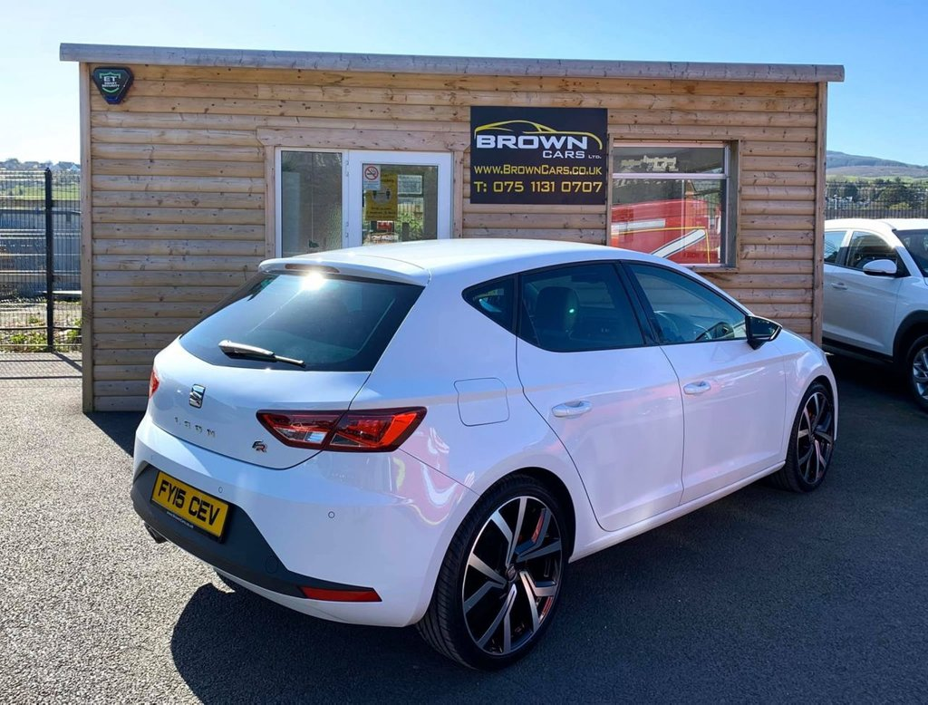 2015 SEAT Leon 2.0 TDI FR TECHNOLOGY Diesel Manual **** Finance Available**** – Brown Cars Newry full