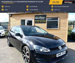 2015 Volkswagen Golf 1.6 S TDI BLUEMOTION TECHNOLOGY Diesel Manual **** Finance Available**** – Brown Cars Newry