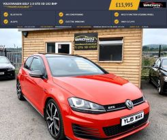 2015 Volkswagen Golf T   2.0 GTD Diesel Manual **** Finance Available**** – Brown Cars Newry