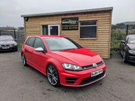 2015 Volkswagen Golf R   2.0 R DSG Petrol Semi Auto  – Brown Cars Newry