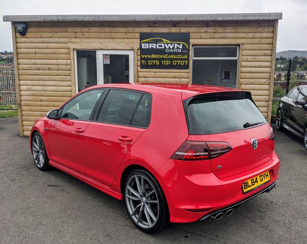2015 Volkswagen Golf R   2.0 R DSG Petrol Semi Auto  – Brown Cars Newry full