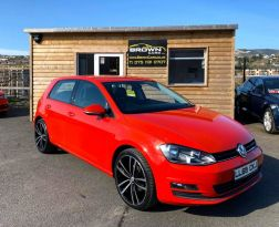 2015 Volkswagen Golf 1.6 MATCH TDI BLUEMOTION TECHNOLOGY Diesel Manual **** Finance Available**** – Brown Cars Newry