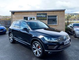 2015 Volkswagen Touareg 3.0 V6 R-LINE TDI BLUEMOTION TECHNOLOGY Diesel Automatic **** Finance Available**** – Brown Cars Newry