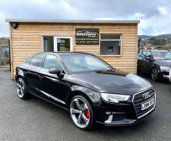 2016 Audi A3 1.6 TDI SPORT Diesel Manual  – Brown Cars Newry