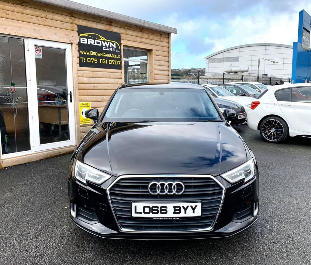 2016 Audi A3 1.6 TDI SPORT Diesel Manual  – Brown Cars Newry full