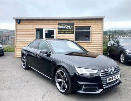 2016 Audi A4 2.0 TDI S LINE Diesel Manual **** Finance Available**** – Brown Cars Newry
