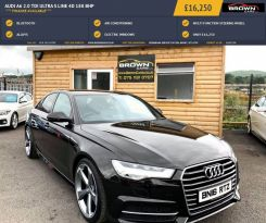 2016 Audi A6 2.0 TDI ULTRA S LINE Diesel Manual **** Finance Available**** – Brown Cars Newry