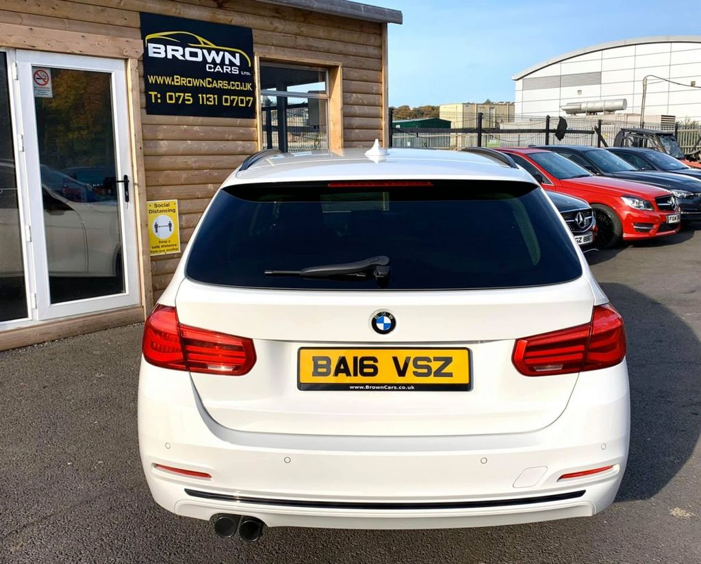 2016 BMW 3 Series 2.0 320D ED SPORT TOURING Diesel Automatic **** Finance Available**** – Brown Cars Newry full