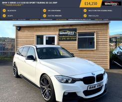 2016 BMW 3 Series 2.0 320D ED SPORT TOURING Diesel Automatic **** Finance Available**** – Brown Cars Newry