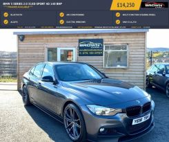 2016 BMW 3 Series 2.0 318D SPORT Diesel Manual **** Finance Available**** – Brown Cars Newry