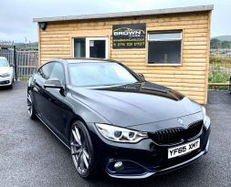 2016 BMW 4 Series 2.0 420D SPORT GRAN COUPE Diesel Automatic **** Finance Available**** – Brown Cars Newry