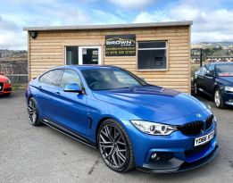 2016 BMW 4 Series 2.0 418D M SPORT GRAN COUPE Diesel Manual **** Finance Available**** – Brown Cars Newry