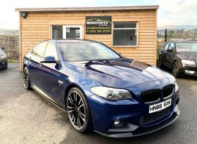 2016 BMW 5 Series 2.0 520D M SPORT Diesel Automatic **** Finance Available**** – Brown Cars Newry