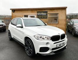2016 BMW X5 3.0 XDRIVE40D M SPORT Diesel Automatic **** Finance Available**** – Brown Cars Newry