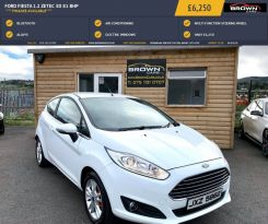 2016 Ford Fiesta 1.2 ZETEC Petrol Manual **** Finance Available**** – Brown Cars Newry
