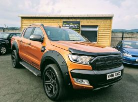 2016 Ford Ranger 3.2 WILDTRAK 4X4 DCB TDCI Diesel Automatic 2016 Ford Ranger 3.2 TDCI WILDTRAK 4X4 TDCI Pick up 6 Speed AUTO ****Finance Available **** . – Brown Cars Newry