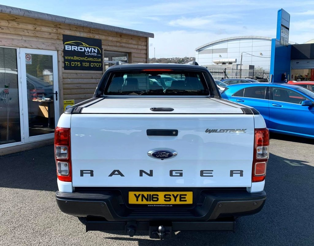2016 Ford Ranger 3.2 WILDTRAK 4X4 DCB TDCI Diesel Manual ****Finance Available **** – Brown Cars Newry full