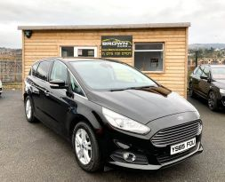 2016 Ford S-Max 2.0 TITANIUM TDCI Diesel Manual **** Finance Available**** – Brown Cars Newry