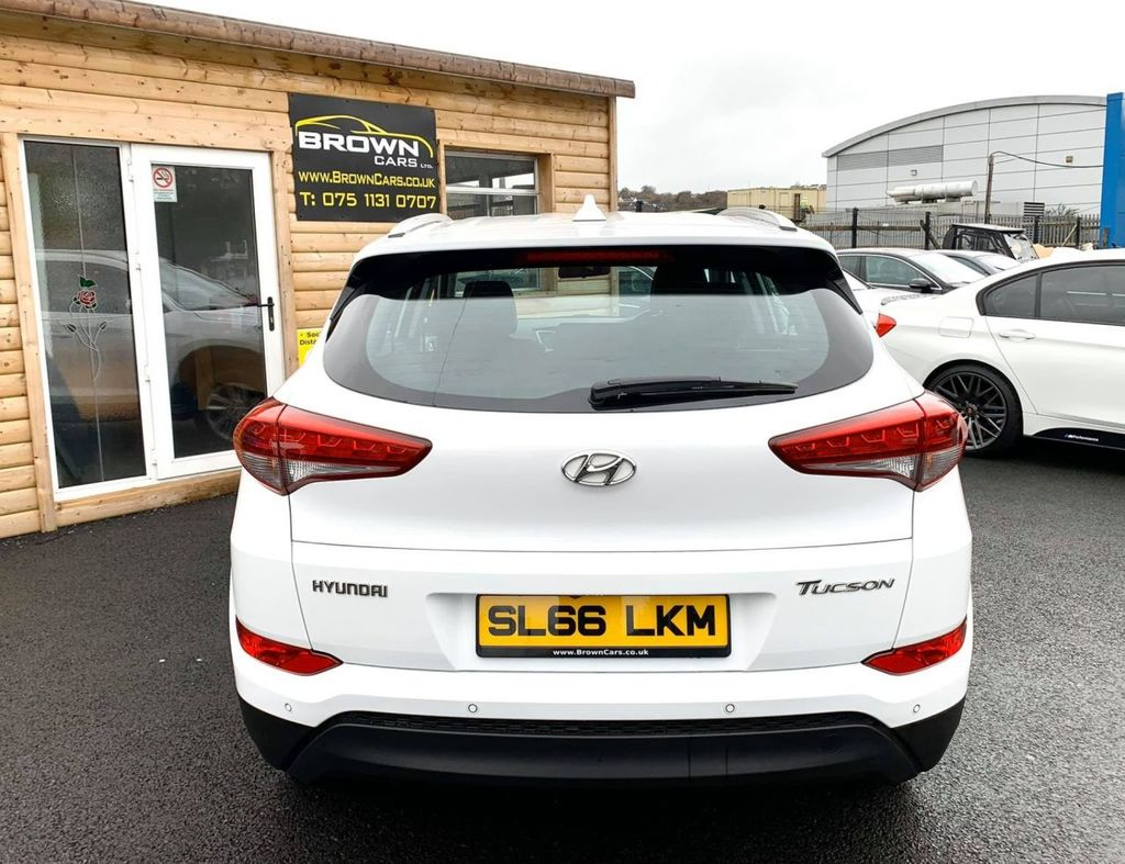 2016 Hyundai Tucson 1.7 CRDI SE NAV BLUE DRIVE Diesel Manual **** Finance Available**** – Brown Cars Newry full