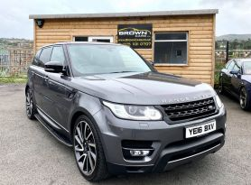 2016 Land Rover Range Rover Sport 3.0 SDV6 HSE DYNAMIC Diesel Automatic **** Finance Available**** – Brown Cars Newry