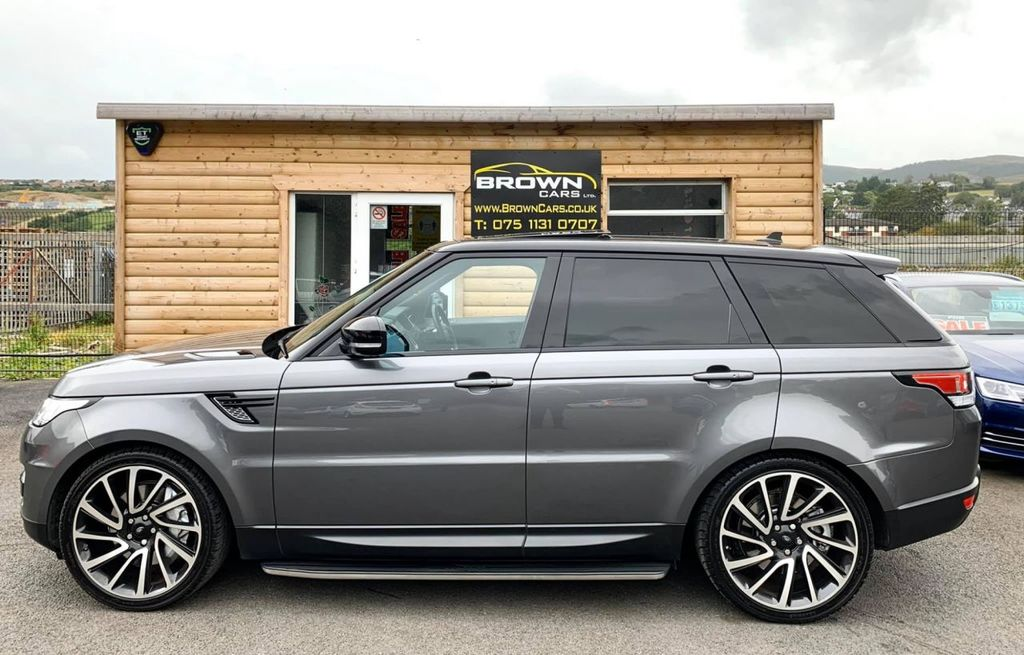 2016 Land Rover Range Rover Sport 3.0 SDV6 HSE DYNAMIC Diesel Automatic **** Finance Available**** – Brown Cars Newry full