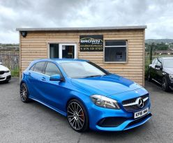 2016 Mercedes-Benz A Class A-CLASS 1.5 A 180 D AMG LINE Diesel Semi Auto **** Finance Available**** – Brown Cars Newry