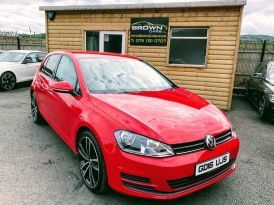 2016 Volkswagen Golf 1.6 S TDI BLUEMOTION TECHNOLOGY Diesel Manual **** Finance Available**** – Brown Cars Newry