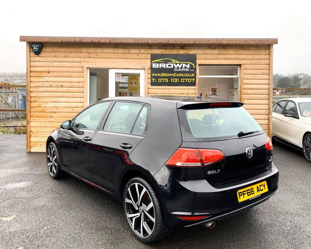 2016 Volkswagen Golf 1.6 S TDI BLUEMOTION TECHNOLOGY Diesel Manual **** Finance Available**** – Brown Cars Newry full