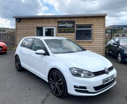 2016 Volkswagen Golf 1.6 MATCH TDI BLUEMOTION TECHNOLOGY Diesel Manual **** Finance Available**** – Brown Cars Newry