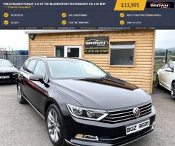 2016 Volkswagen Passat 2.0 GT TDI BLUEMOTION TECHNOLOGY Diesel Manual **** Finance Available**** – Brown Cars Newry