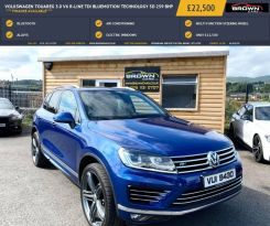 2016 Volkswagen Touareg 3.0 V6 R-LINE TDI BLUEMOTION TECHNOLOGY Diesel Automatic **** Finance Available**** – Brown Cars Newry