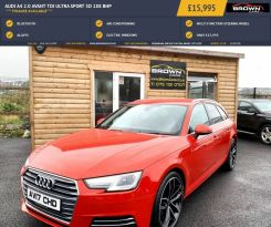 2017 Audi A4 2.0 AVANT TDI ULTRA SPORT Diesel Manual **** Finance Available**** – Brown Cars Newry