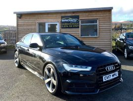 2017 Audi A6 2.0 TDI ULTRA S LINE Diesel Manual **** Finance Available**** – Brown Cars Newry