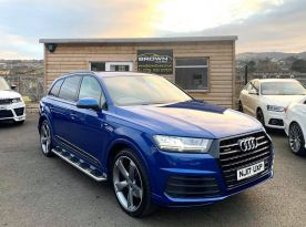 2017 Audi Q7 3.0 TDI QUATTRO S LINE Diesel Automatic **** Finance Available**** – Brown Cars Newry