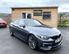 2017 BMW 4 Series 3.0 430D XDRIVE M SPORT GRAN COUPE Diesel Automatic **** Finance Available**** – Brown Cars Newry
