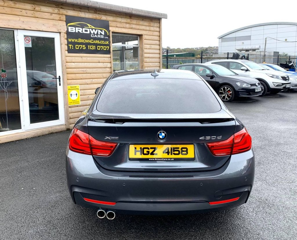2017 BMW 4 Series 3.0 430D XDRIVE M SPORT GRAN COUPE Diesel Automatic **** Finance Available**** – Brown Cars Newry full