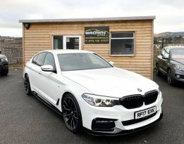 2017 BMW 5 Series 2.0 520D M SPORT Diesel Automatic  – Brown Cars Newry