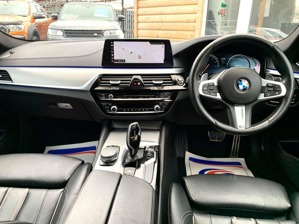 2017 BMW 5 Series 2.0 520D M SPORT Diesel Automatic  – Brown Cars Newry full