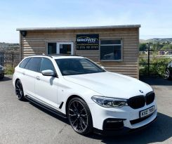 2017 BMW 5 Series 3.0 530D XDRIVE M SPORT TOURING Diesel Automatic **** Finance Available**** – Brown Cars Newry