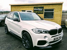 2017 BMW X5 3.0 XDRIVE40D M SPORT Diesel Automatic **** Finance Available**** – Brown Cars Newry