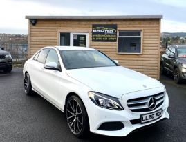 2017 Mercedes-Benz C Class C-CLASS 2.1 C220 D SPORT Diesel Automatic **** Finance Available**** – Brown Cars Newry