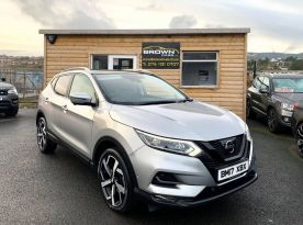 2017 Nissan Qashqai 1.5 DCI TEKNA Diesel Manual **** Finance Available**** – Brown Cars Newry