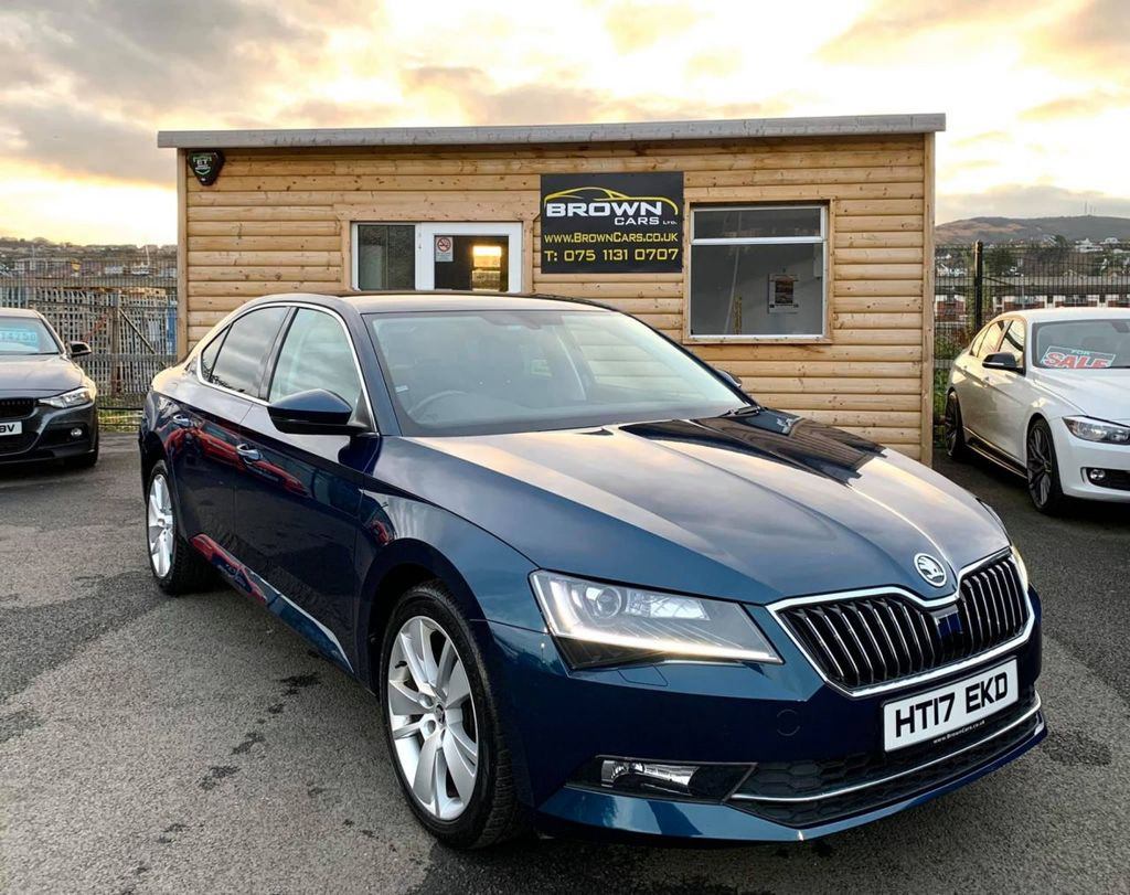 2017 SKODA 2 SUPERB .0 SE L EXECUTIVE TDI Diesel Manual **** Finance Available**** – Brown Cars Newry full
