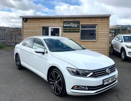 2017 Volkswagen Passat 1.6 SE BUSINESS TDI BLUEMOTION TECHNOLOGY Diesel Manual ****FINANCE AVAILABLE**** – Brown Cars Newry