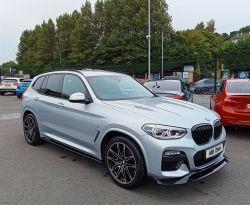 2018 BMW X3 A   3.0 XDRIVE30D M SPORT Diesel Automatic  – Brown Cars Newry