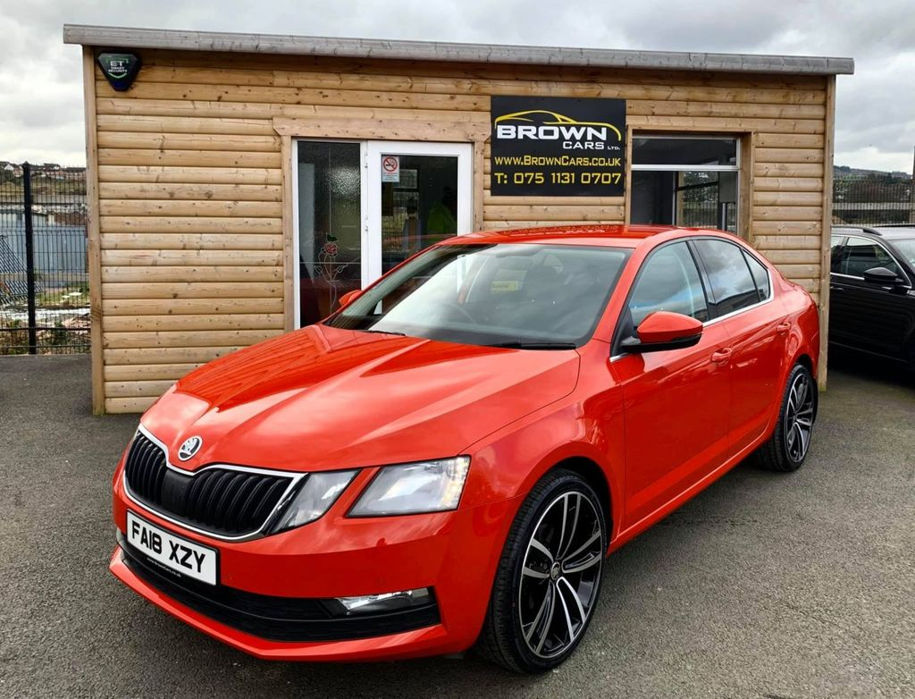 2018 SKODA Octavia 1.6 SE TECHNOLOGY TDI Diesel Manual **** Finance Available**** – Brown Cars Newry full