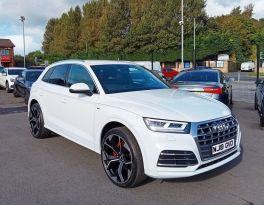 2019 Audi Q5 2.0 TDI QUATTRO S LINE Diesel Semi Auto **** Finance Available**** – Brown Cars Newry