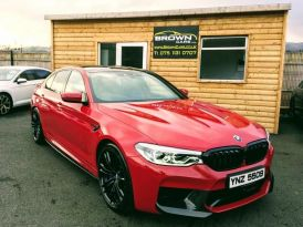 2019 BMW M5 4.4 Petrol Automatic **** Finance Available**** – Brown Cars Newry
